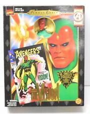 "Vision Toy Biz Famous Covers Action Figure 8"" 1998 NIP Marvel Comics"