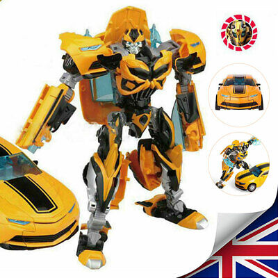 Kid Bumblebee Action Figure Transformers Toys Human Vehicle Alliance 18cm Tall