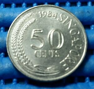 1984-Singapore-50-Cents-Lion-Fish-Coin