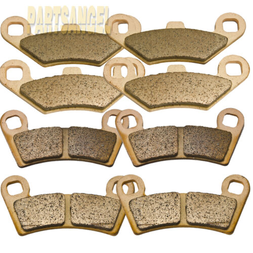 F+R Sintered Brake Pads For Polaris Razor RZR 800 RZR S 800 /& RZR 570 EPS