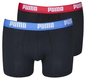 cc9842374f Puma Pack of 2 Boxer Shorts Men's Pants Underwear Basic - Black ...