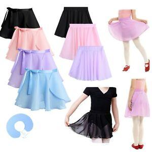 Toddler-Kid-Girl-Ballet-Tutu-Skirt-Dance-Wear-Gymnastic-Dress-Wrap-Mini-Skirt