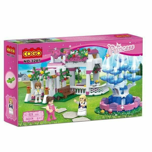 PRINCESS GARDEN 421 PCS BUILDING BLOCKS