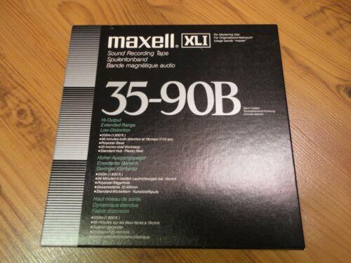 18cm 1 x MAXELL XLI 35-90B Tonband Neuwertig!!!