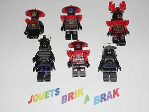 LEGO-Minifig-figurine-figurinne-Ninjago-Ninja-Go-choose-model-KG-74