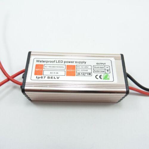 8-12x1W AC//DC 180-265V//32-48V Electronic LED Driver Power Supply Transformer
