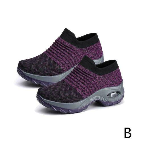 1xBreathable Lightweight Outdoor Walking Shoes Air Casual Cushion Fashion S Y8J4