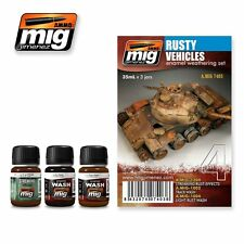 MIG PRODUCTIONS A.MIG7403 - RUSTY VEHICLES SET - NUOVO
