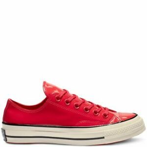 Star 70- OX Patent Leather Cherry Red