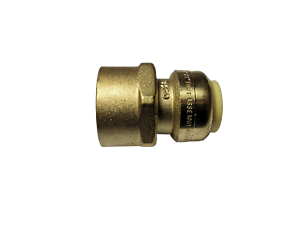 """5 PIECES SHARKBITE STYLE 3//4/"""" PUSH FIT X 1/"""" FNPT FEMALE THREADED ADAPTER"""