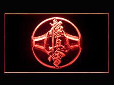 230066 Kung Fu Karate Movie Frighting Taekwondo Japanese Kurash LED Light Sign