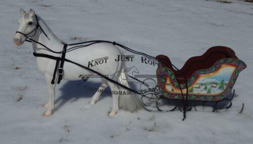 Battat American Girl notre génération harnais cheval pour transport BUGGY ou traîneau