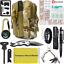 40-in-1-Outdoor-Camping-Survival-Kit-Military-Tactical-Backpack-Emergency-Gear miniature 1
