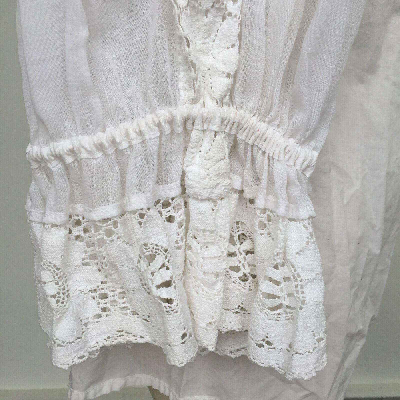 VTG 1970s Hungarian Handmade Textured Boho-Chic P… - image 7