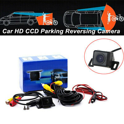 Universal SUV/'s Car Front View HD CCD Color Parking Reversing Camera Waterproof