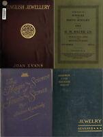 197 Rare Old Books On Jewelry, Gold, Pearls, Diamonds Precious Gem Stones On Dvd