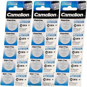 """""""15x Camelion Cr2016 Premium Lithium Batterie Cr 2016"""