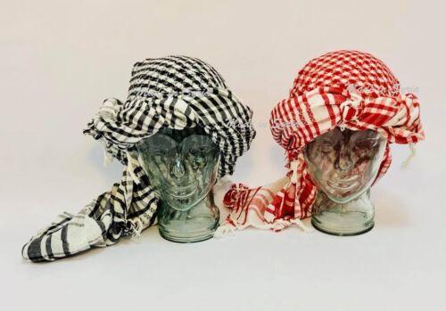 Cotton Military Grade Shemagh Headscarf Keffiyeh 130X100CM  شماغ شال حطه