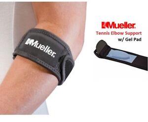 f383c09371 Mueller Tennis Elbow Support Brace with Gel Pad ~ Strain Pain Tennis ...