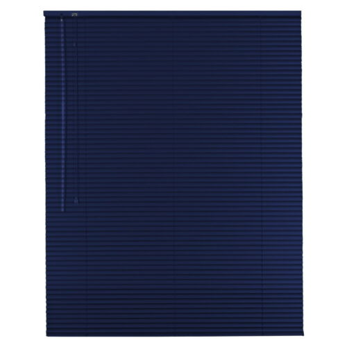 Alu Jalousie Aluminium Jalousette Jalusie Schalusie Höhe 80 cm blau