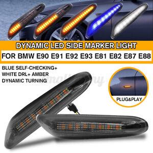 Dynamisch LED Seitenblinker DRL Blinker Für BMW E90 E91 E92 E93 E60 E61 E82