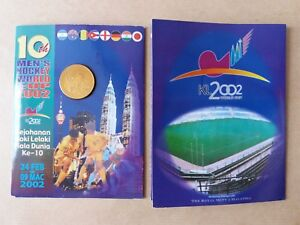 Malaysia 2002 Men's Hockey World Cup RM1 BU Coin Card (UNC) (OFFER)