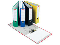 5 10 20 50 A4 LEVER ARCH FILES / FOLDERS 80MM BLACK RED PURPLE BLUE GREEN YELLOW