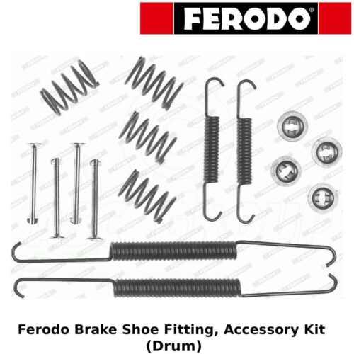 OE Quality Accessory Kit Ferodo Brake Shoe Fitting Drum - Rear FBA84
