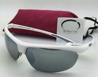 Suncloud Polarized Optics Sunglasses Zephyr White Frame W/ Silver Mirror