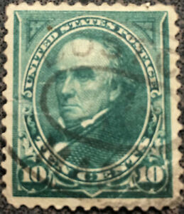 Scott 273 Us 1895 10 Cent Daniel Webster Postage Stamp Xf Ebay
