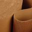 1 Rollo De Papel Corrugado Rollo Envoltura Protectora de Envío Postal 500 Mm x 75 M