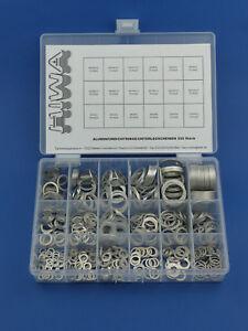 525-aluringe-surtido-denso-anillos-de-aluminio-discos-Alu-drenaje-box-de