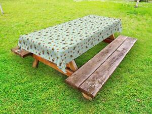 Autumn-Acorn-Outdoor-Picnic-Tablecloth-in-3-Sizes-Washable-Waterproof