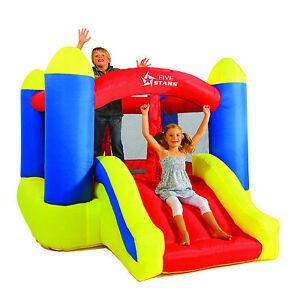 hoq kinder h pfburg kinderh pfburg springburg trampolin neu ebay. Black Bedroom Furniture Sets. Home Design Ideas