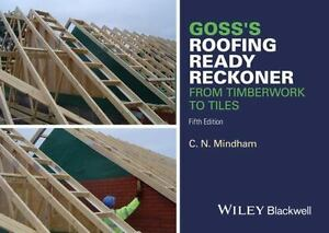 Image Is Loading Goss 039 S Roofing Ready Reckoner From Timberwork