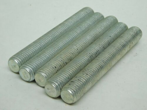 """5 Full All Thread B7 STUD 3//4-10 X 5-3//4/"""" CAD Plated Coated Structure Bolt NH"""