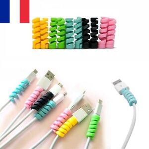 Lot-2X-Protection-cable-embout-Protecteur-Universel-Iphone-Samsung-ecouteurs