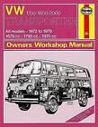 VW Transporter 1700/1800/2000 Owners Workshop Manual by Haynes Publishing Group (Paperback, 2014)