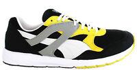 Puma Future R698 Lite Mens Trainers Running Shoes Black Green 354999 10  D26