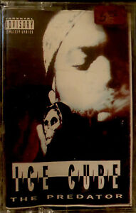 SEALED-ICE-CUBE-THE-PREDATOR-CASSETTE-TAPE-N-W-A-OOP-1992-NEW-UNOPENED-LOOK