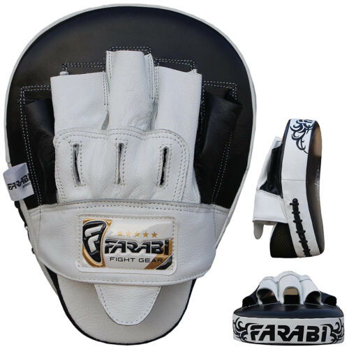 Focus Pads Hook Jab Mitts Light Weight Training Sparring Boxing Pad Pairs