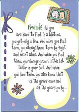 Friends Like You Are Hard To Find Blue Mountain Arts Card Ebay