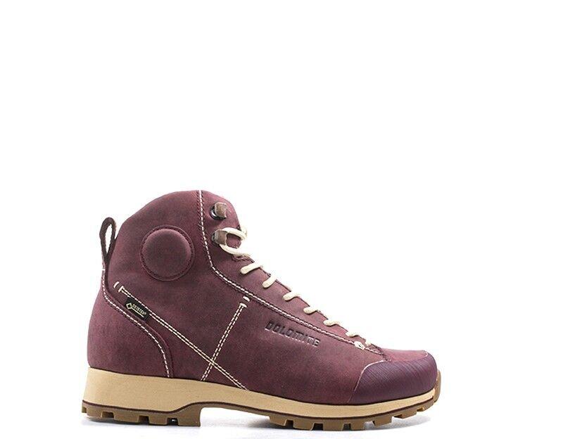 Schuhe DOLOMITE Frau BORDEAUX Naturleder 268009-BO