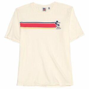 Official Disney /'Mickey Mouse/' Retro-Vintage Style Men/'s T-Shirt {Size S-2XL}