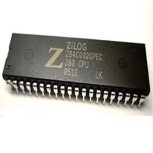 5pcs-Z84C0020PEC-NMOS-CMOS-Z80-CPU-CENTRAL-PROCESSING-UNIT-DIP-40