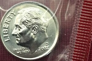 1973 D Roosevelt Dime Roll from Mint Set in Original Mint Cello 50 each