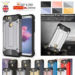 half off 8ca01 bc5b8 Details about Huawei Honor 9 Lite 2017 Case - Heavy Duty Shockproof Rugged  Bumper Hybrid Armor