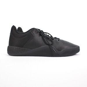 6d5965da2809 Image is loading Adidas-Tubular-Instinct-Low-Black-on-Black-Mens-