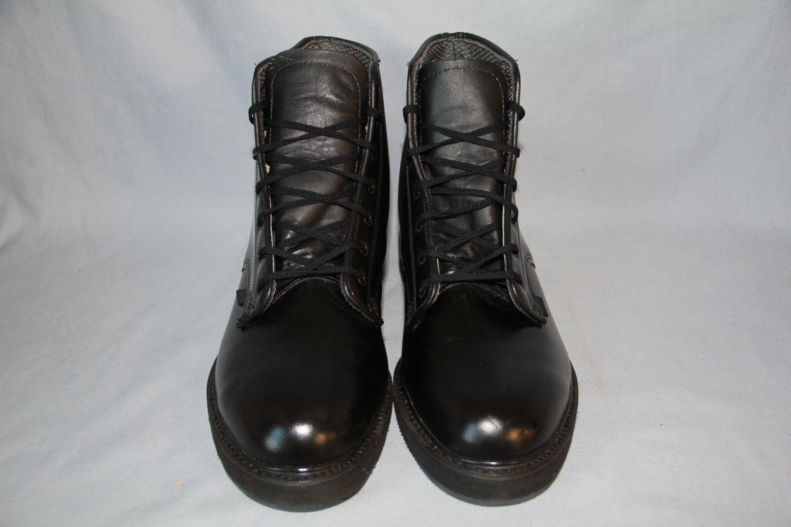 Men's Bates 6'' Black SR58 Plain Toe Postal Uniform Boots size. 10.5D  (342)
