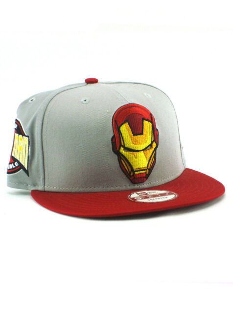 New Era Iron Man 9fifty Snapback Hat Adjustable Cap Marvel Comics Avengers  NWT ca0e2a9e852a